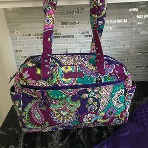 Vera Bradley diaper bag- heather pattern